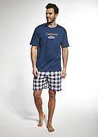 3b291a9e4f5e Пижама CORNETTE PM-326/74, 100 % хлопок, Польша мужские пижамы, пижама, L;  M; , M джинсовый, джинсовый