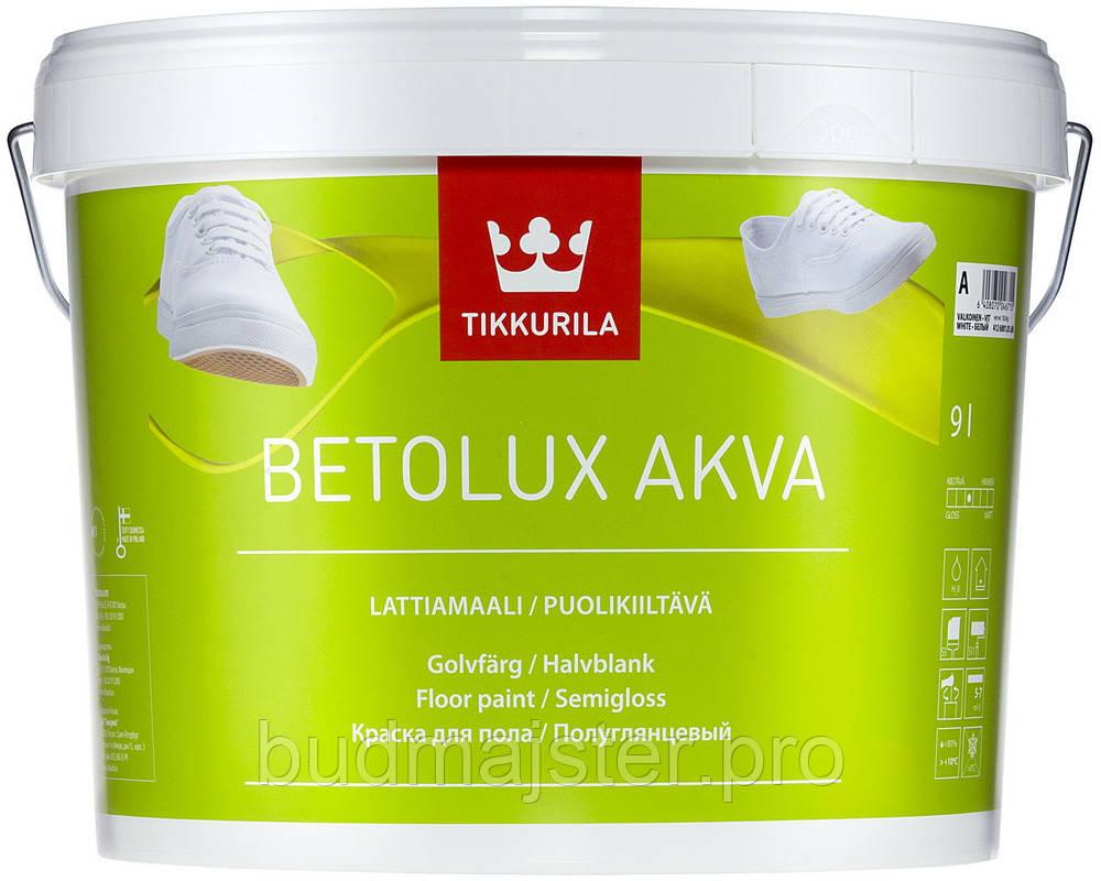 Фарба Тіккуріла Бетолюкс Аква 2,7л