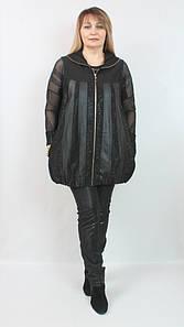 Удлиненная женская жилетка Турция, размеры 50-56