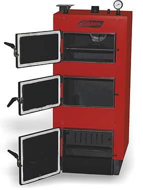 Котел утилизатор твердотопливных отходов Carbon Lux 24 кВт (Карбон люкс), фото 2