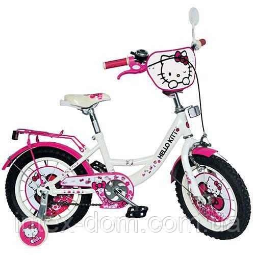 Велосипед 14д. HK 0074  Хелло китти