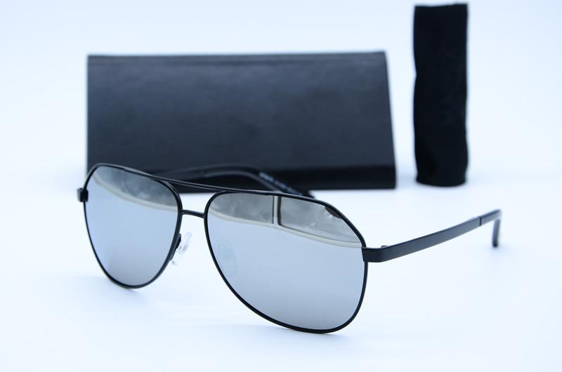 Мужские солнцезащитные очки Авиатор 8776 зеркало