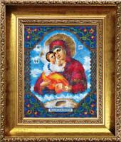 Набор для вышивания бисером «Икона Божьей Матери Почаевская»