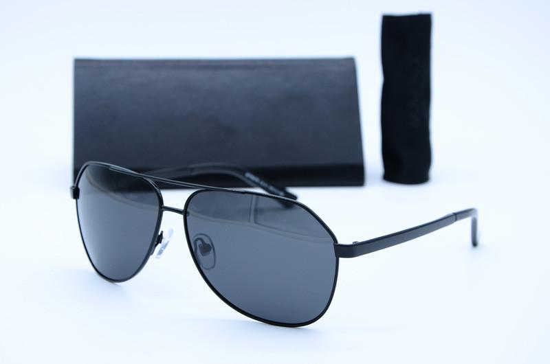 Мужские солнцезащитные очки Авиатор 8776 черн