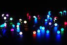Светодиодная гирлянда LED Ball Garland RGB, IP54, фото 7