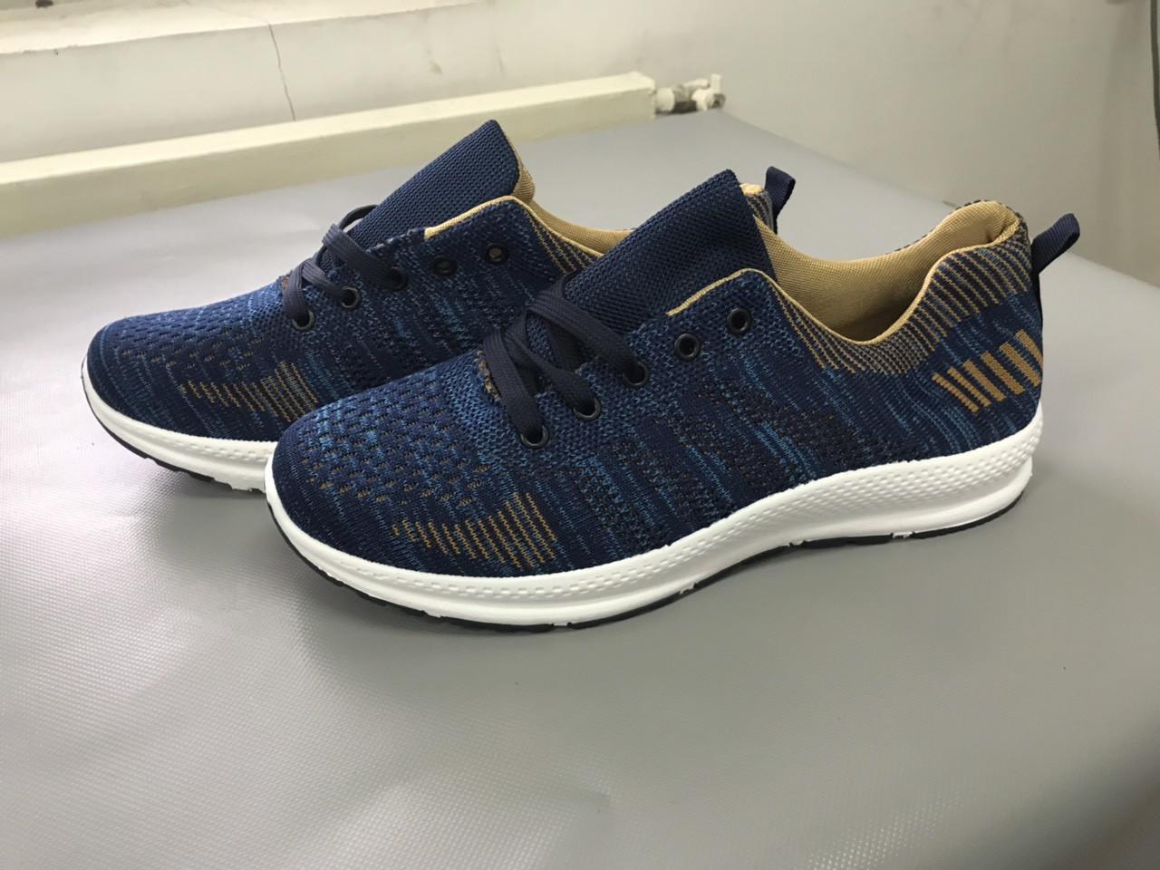 Мужские кроссовки (Код: М-22 синий)