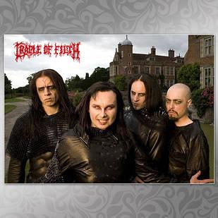 Плакат Cradle of Filth 04