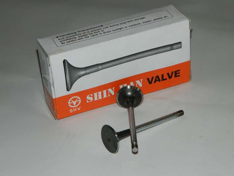Клапан выпускной (за 1 шт) Лачетти 1,8 DOHC  SHINHAN  Корея