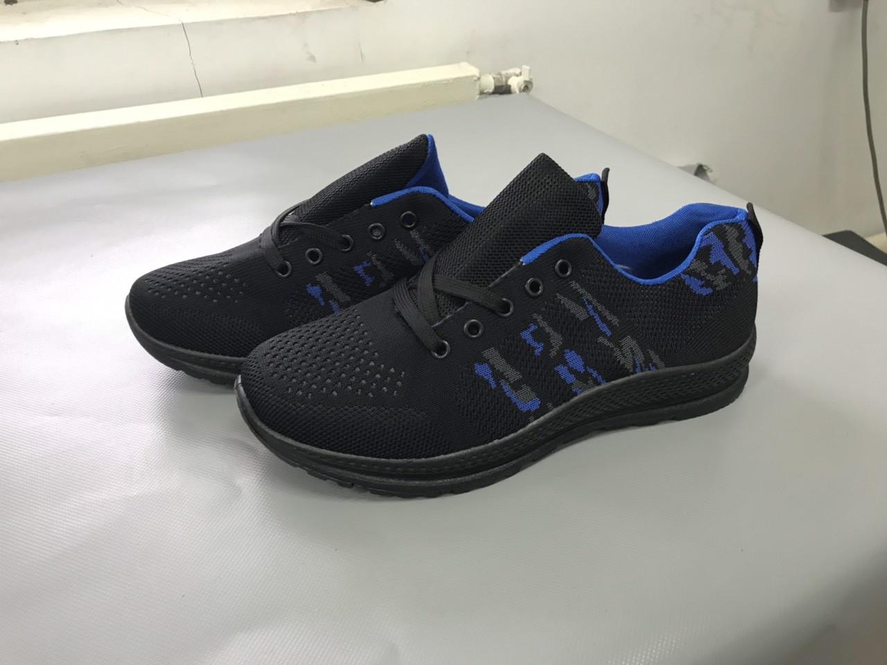 Мужские кроссовки (Код: М-20 синий )