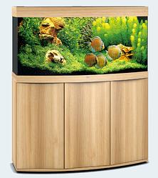 Аквариум средний Juwel (Джувел) VISION 260 LED с выгнутым стеклом, светлый дуб 260 литров