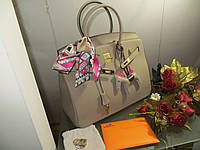 a799852bfd4a Женская шикарная сумка Hermes Birkin 35 см цвет светло оливковый Original  quality
