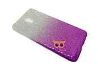 Силиконовый чехол Gradient для Meizu M2 (M2 Mini) Фиолетовый