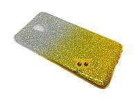 Силиконовый чехол Gradient для Meizu M2 (M2 Mini) Золотой
