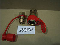 Муфта разъемная пневматическая М22х1,5 (красная), каталожный № БРС-65