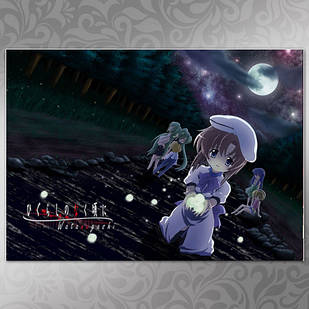 Плакат Аниме Higurashi 02