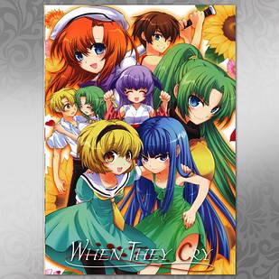 Плакат Аниме Higurashi 03