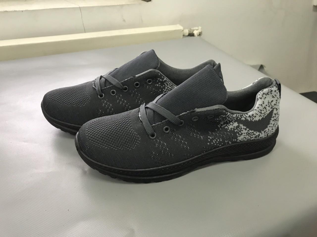 Мужские кроссовки (Код: М-18 серый )