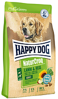 Корм Happy Dog Natur Croq Хеппи Дог Натур Крок для собак с ягненком и рисом 15 кг