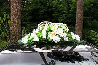 Свадебные кольца на авто с цветами - (прокат, продажа, цена)