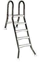 Лестница Kripsol 4+1 ступ.(для сборных бассейнов h=1,2m)