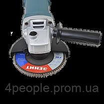 Угловая шлифовальная машина Зенит ЗУШ-125/1100 профи, фото 3