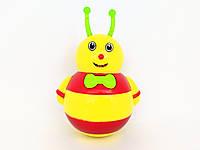 Детская музыкальная игрушка Неваляшка Божья коровка