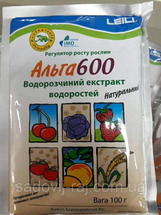 Биостимулятор АЛЬГА 600 / Alga 600, 100г,  Leili Agrochemistry