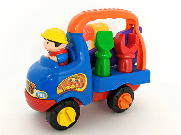 Конструктор детский Машинка с инструментами, фото 2