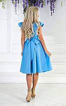 """Летнее приталенное миди-платье """"Foley"""" с кружевом на поясе (2 цвета), фото 3"""