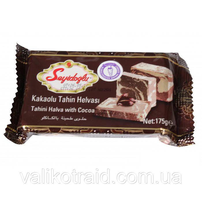 Тахиновая халва Seyidoglu с какао  175г , турецкие сладости