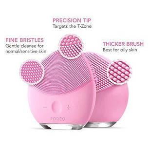 Электрическая щетка-массажер для лица Foreo Luna mini 2 Розовая, фото 2