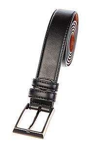 Ремень с классической пряжкой 23P039 (Черный)