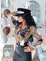"""Стильная женская блуза-рубашка """"Mercato"""" с длинным рукавом (3 цвета), фото 3"""