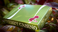 Карты игральные | Cherry Casino Fremonts (Sahara Green)  Playing Cards By Pure Imagination Projects