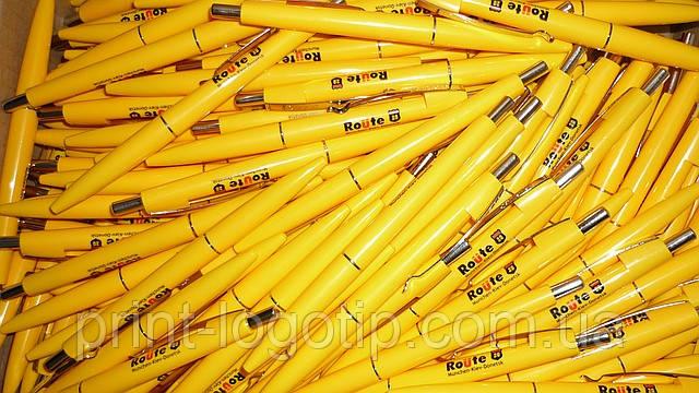Заказать логотип на ручках в Киеве, Чернигове, Виннице