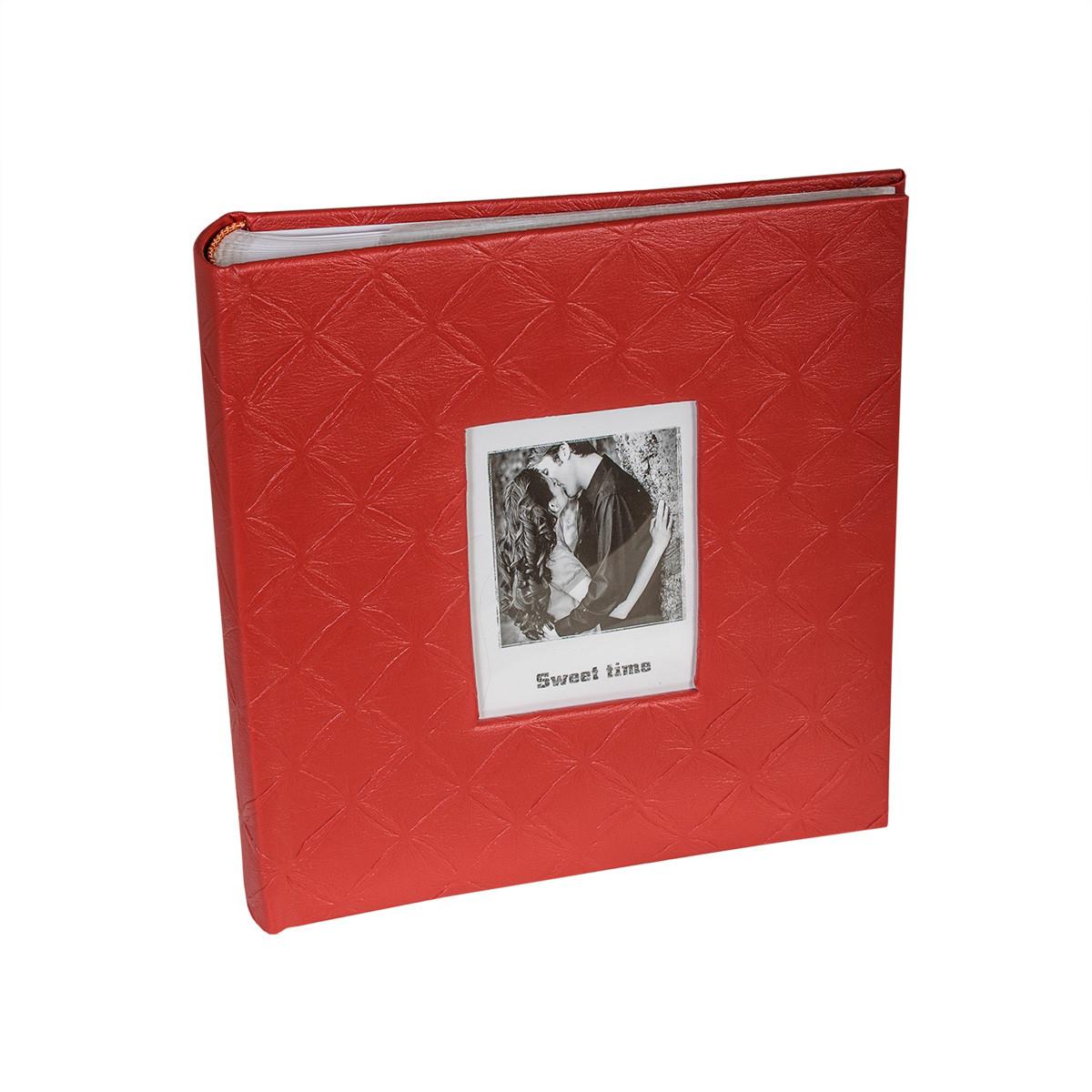 Фотоальбом 13*18/200 Rhombus Red ( на складе )