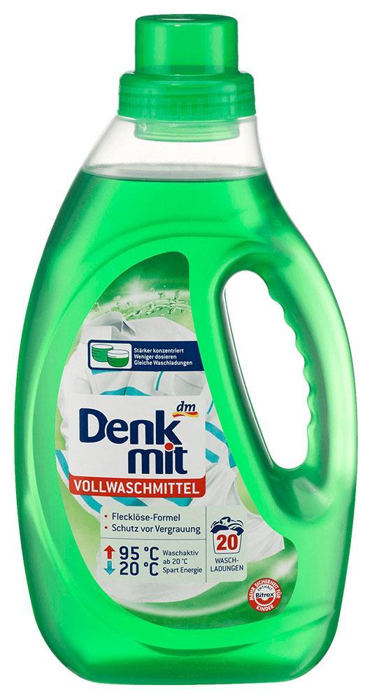 Стиральный гель Denkmit для белого белья 1,1л 20 стирок