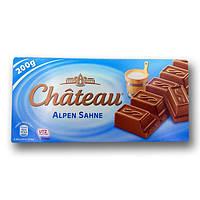 """Шоколад """"Chateau"""" Alpen Sahne, молочний, 200г"""