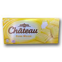 "Шоколад ""Chateau"" Feine Weisse, білий, 200г"