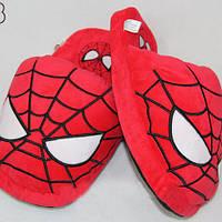 Мягкие тапочки человек паук