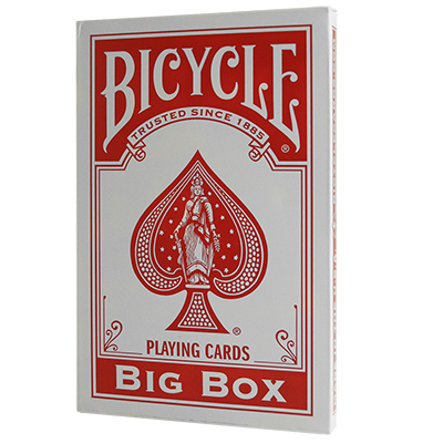 Карты игральные | Big Bicycle Cards (Jumbo Bicycle Cards, Red), фото 2