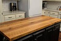 Кухонная столешница из дерева от производителя