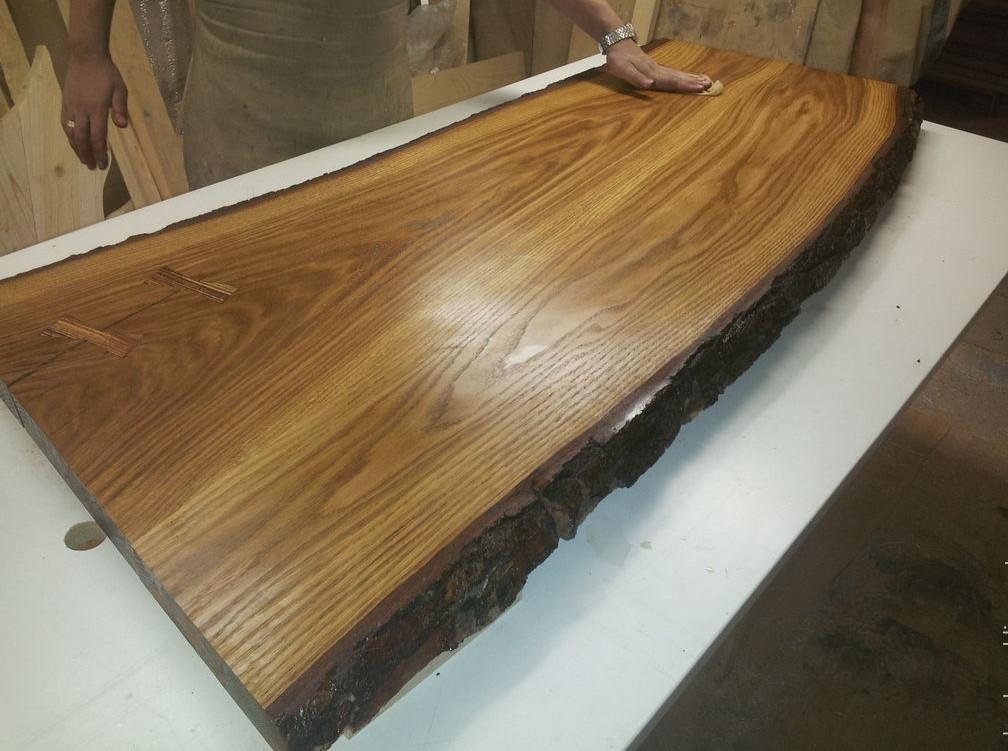 Столешница из массива дерева дуба, фото 4