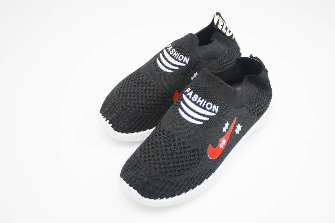 Детские кроссовки мокасины (Код: 319 черный )