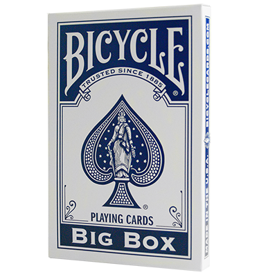 Карти гральні   Big Bicycle Cards (Jumbo Bicycle Cards, Blue)