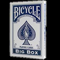 Карты игральные | Big Bicycle Cards (Jumbo Bicycle Cards, Blue)