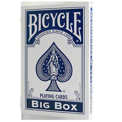 Карти гральні   Big Bicycle Cards (Jumbo Bicycle Cards, Blue), фото 2