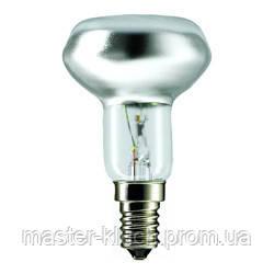 Лампа накаливания рефлекторная Philips R50 E14 60Вт