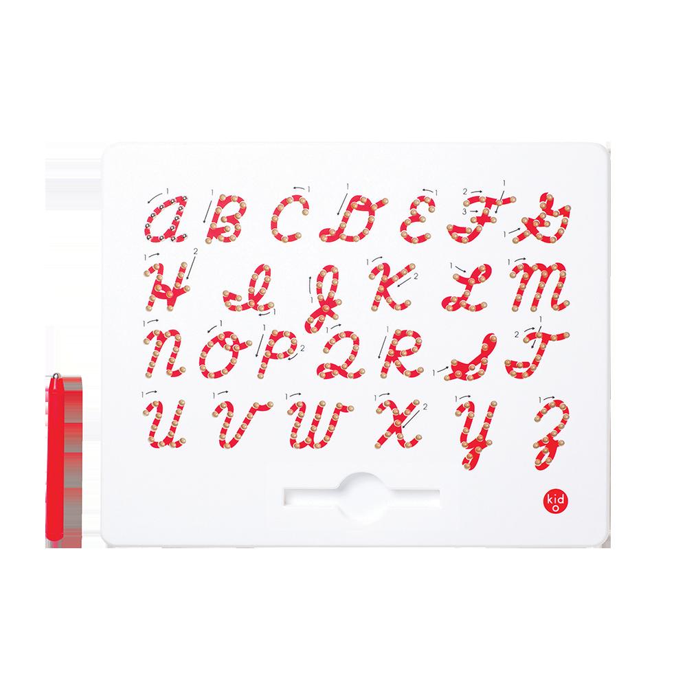 Магнітна дошка Kid O для вивчення англійських великих прописних букв від А до Z (10363)