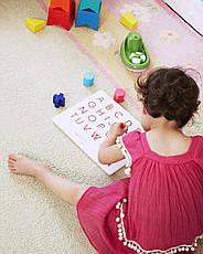 Магнітна дошка Kid O для вивчення англійських великих прописних букв від А до Z (10363), фото 3